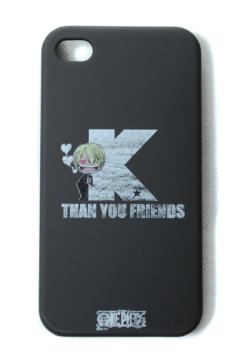 M IPHONE4 COVER (ONE PIECE SANJI BY K)