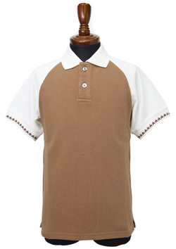RETRO BI-COLOR WASHED POLO SHIRTS