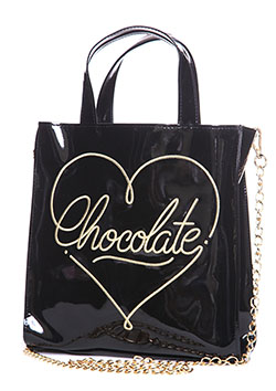 CHOCOLATE 2WAY SHOLDER BAG