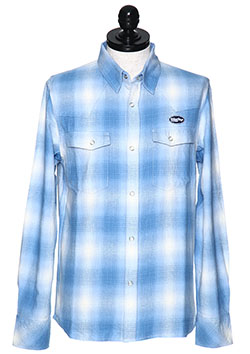 ORIGINAL SMOKY OMBRE CHECK WESTERN SHIRTS