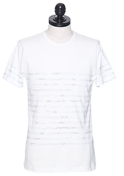 ORIGINAL WHITE BORDER CAMO S/S CREW