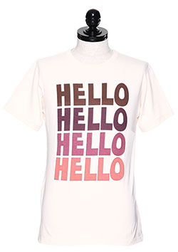 CREW NECK T-SHIRTS (HELLO)