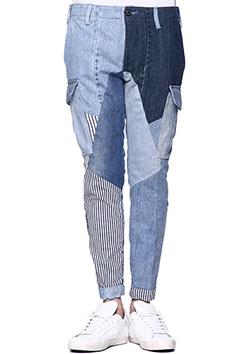 REAL VINTAGE DENIM REMAKE M65 ANKLE