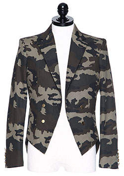 DRESS CAMP CAMO JACKET