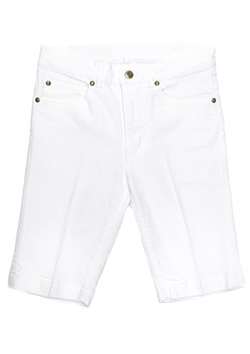 STRETCH DENIM TWIGGY SHORTS