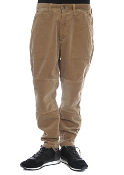 M CROPPED CORDUROY PANTS