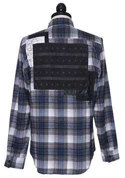 CHECK FLANNEL SHIRT B