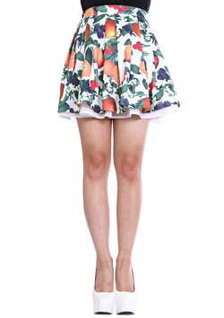 JOYRICH ORANGE BLOSSOM PLEATS SKIRTS