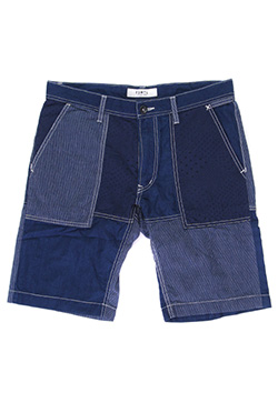 FDMTL / PATCHWORK SHORT PANTS