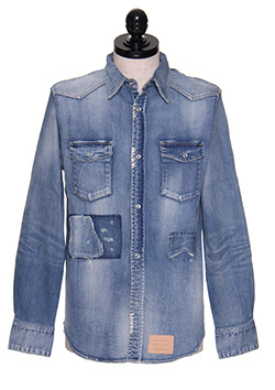 EASY DENIM REPAIR WESTERN SHIRTS
