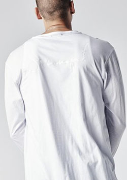 SIGNATURE DOUBLE LAYER L/S TEE