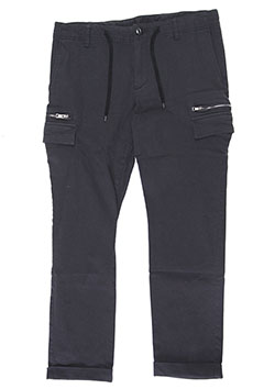 HIGH POWER TWILL STRETCH ZIP CARGO PANTS