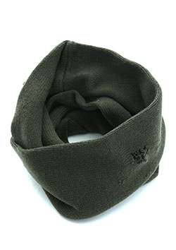 WOOL DAMAGED COMMANDO DOUBLE NECK WARMER