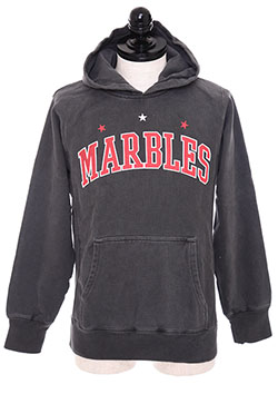 MARBLES PIGMENT HOODED PARKA