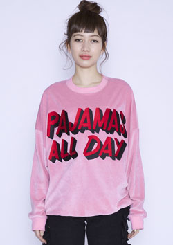 PAJAMAS ALL DAY VELORSWEATER