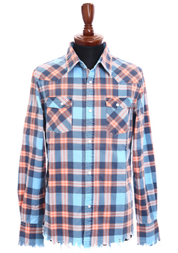 M ORIGINAL MADRAS CUT OFF CHECK SHIRTS