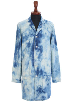 M HAND BLEACH WASH LONG SHIRTS