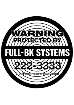 STICKER ( SYSTEMS )