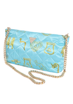 GIZA HIEROGLYPH CLUTCH BAG
