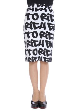 JOYRICH GHETTO GRAFFITI TUBE SKIRT