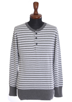 9200 COTTON MARIN BORDER HENRY NECK L / S
