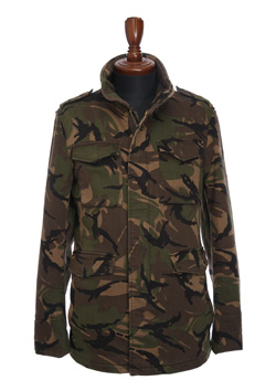 1PIU1UGUALE3 CAMO SWEAT DENIM N E W WAVE M65 JACKET