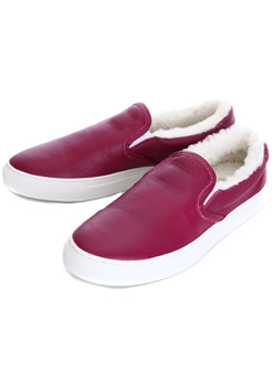 1PIU1UGUALE3 COW SHRINK BOA SLIP ON
