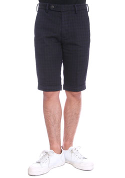 1PIU1UGUALE3 HOUNDTOOTH NEW WAVE SHORTS