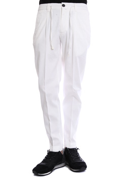 1PIU1UGUALE3 STRETCH ITALY KANOKO EASY ITALY TROUSERS