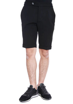 OUTLAST HERRINGBONE RIB TROUSERS SHORTS