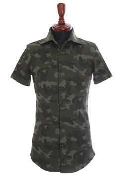 ORIGINAL HEAVY KANOKO CAMO S/S PLAIN SHIRT