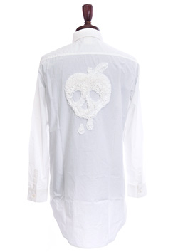 maxsix APPLE SKULL LONG SHIRTS