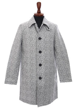 STEM COLLAR COAT
