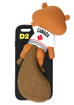 DSQUARED2 IPHONE6/6S CASE ( BEAVER MOTIF )
