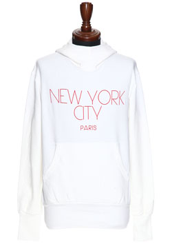NYC PARIS STRETCH PULLOVER PARKA
