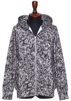 maxsix ZIP PARKA KNIT PATTERN