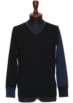 9200 AIR WOOL V NECK PULLOVER PREMIUM